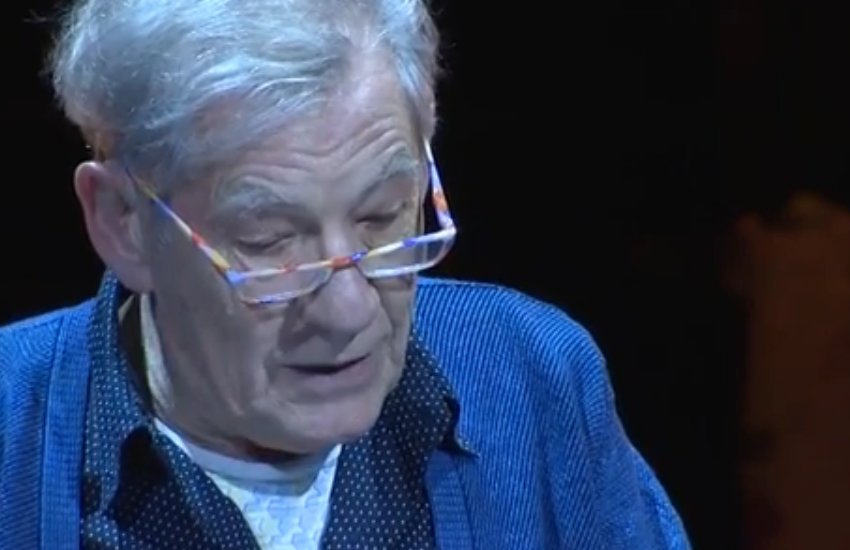 Sir Ian McKellen reads a letter from Armistead Maupin's Tales of the City.