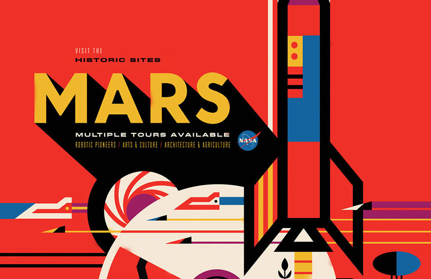 NASA's new travel posters will make you want to visit space immediately