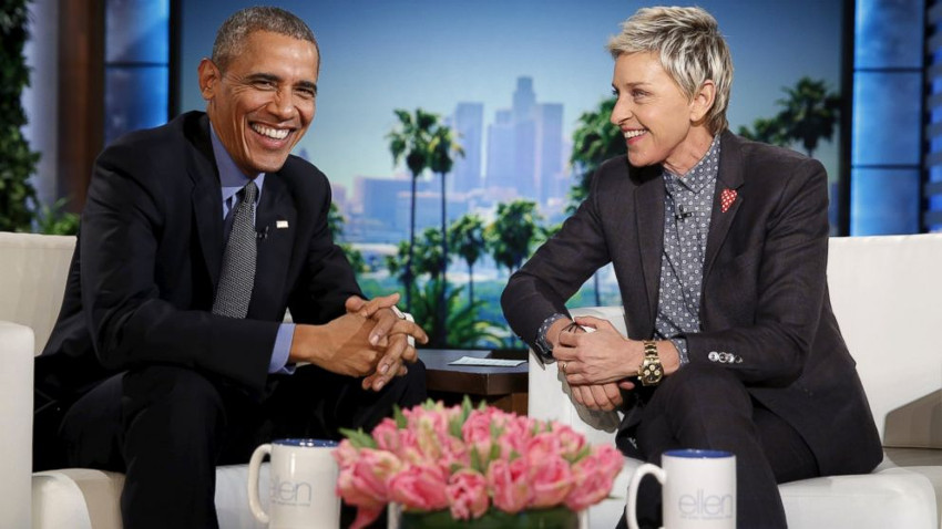 President Obama and Ellen DeGeneres praised each other's efforts for LGBTI equality