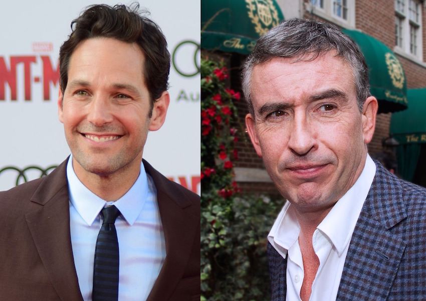 Paul Rudd and Steve Coogan previously worked together on 2011's Our Idiot Brother.