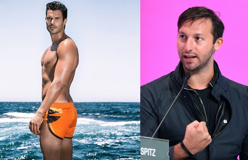 Ryan Channing and Ian Thorpe have been spotted together around Sydney.