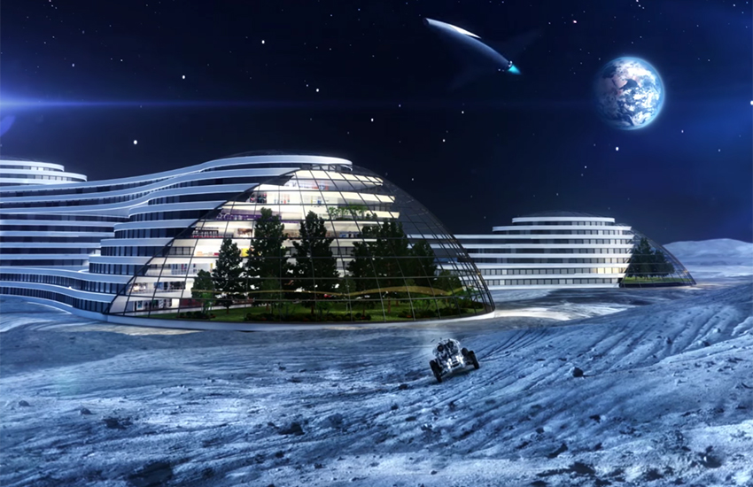 A Moon base is more than just likely, according to scientists – and it would only be the beginning.