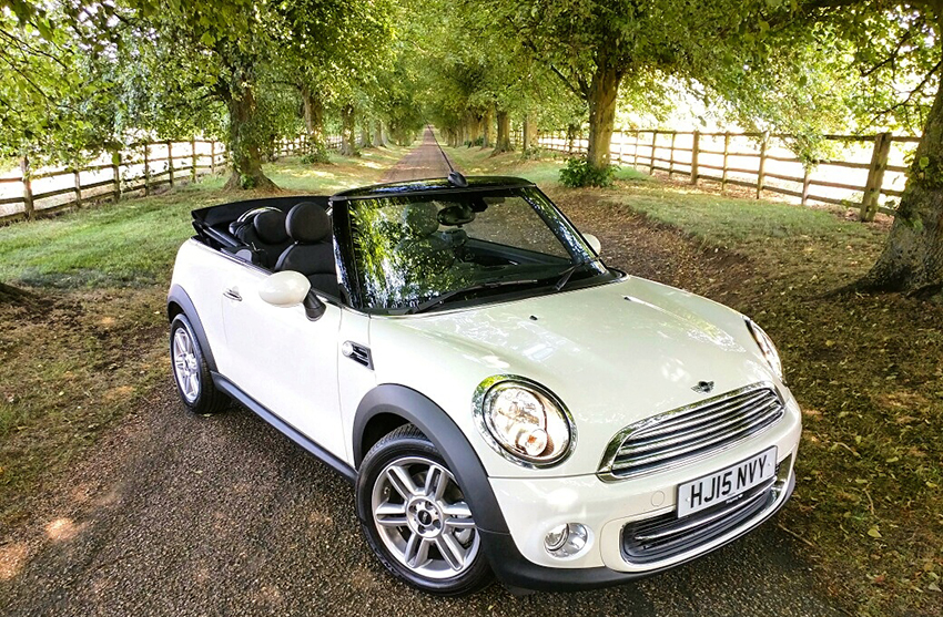 Get excited by driving again with a Mini.