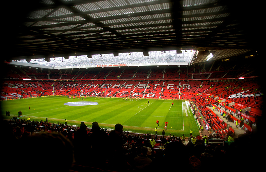 Manchester United's home stadium: Old Trafford