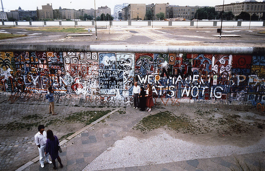 East of the Berlin Wall, gay rights took a different path than in the West.
