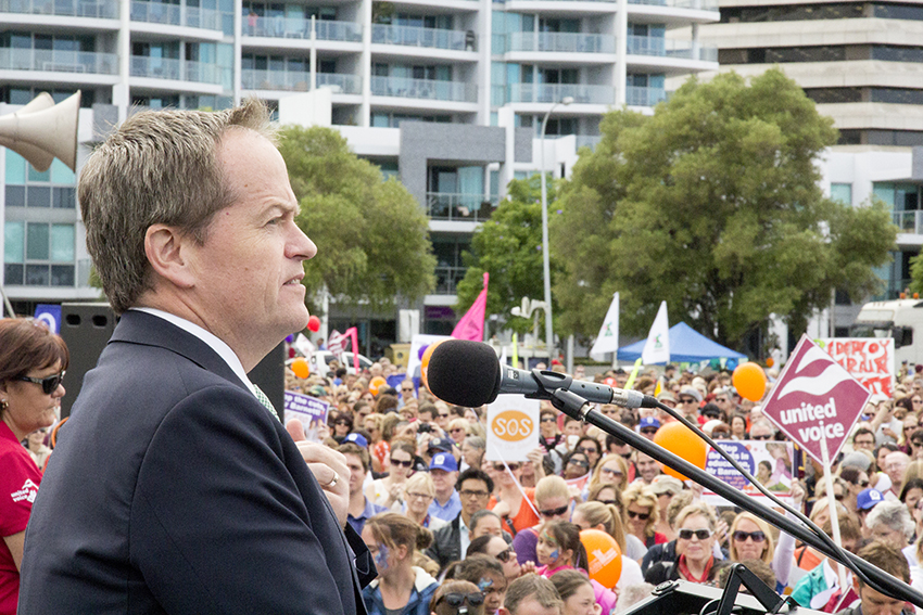Bill Shorten is fighting for marriage equality