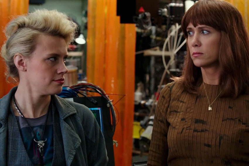 Will two Ghostbusters get together in the new film?