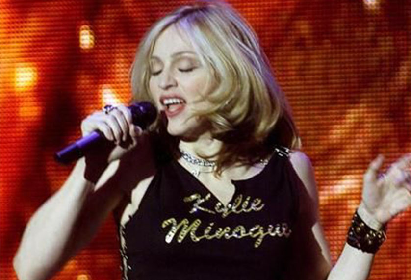 Madonna wore this Kylie Minogue top