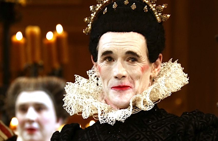 Mark Rylance as Olivia in the Globe Theatre's production of Shakespeare's Twelfth Night.