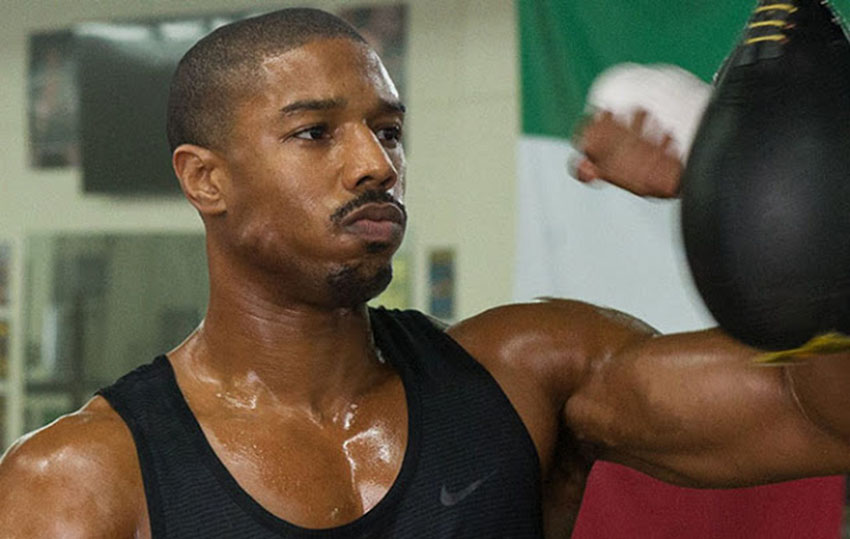 Michael B Jordan posed for Vanity Fair