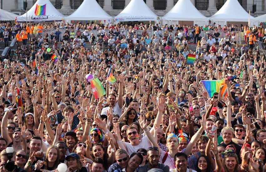 This year's Pride in London theme is '#nofilter'