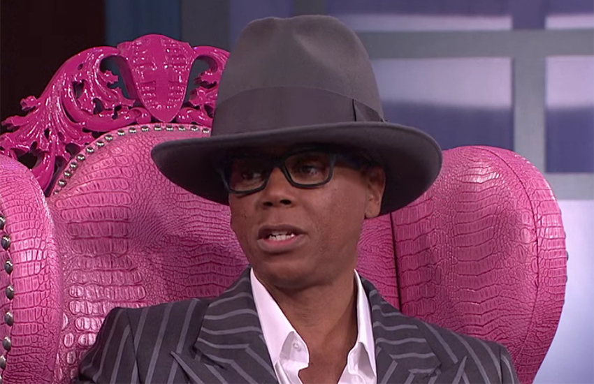 \RuPaul was his first Emmy in 2016.
