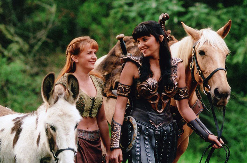 Xena and Gabrielle were to be together in new series