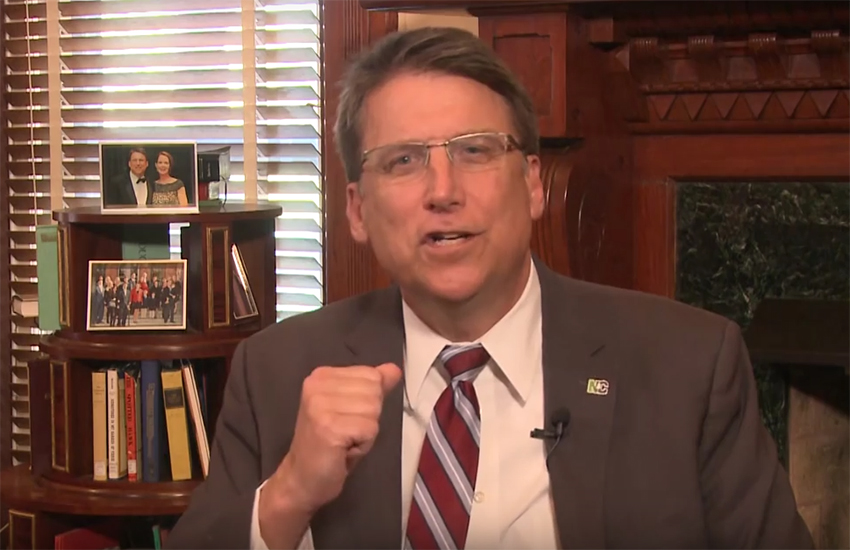 North Carolina Governor Pat McCrory has lashed out State Attorney Ray Cooper's criticism of HB2