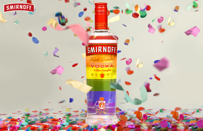 Smirnoff is a partner of Digital Pride