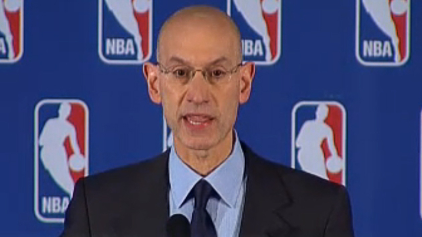Adam Silver is commissioner of the NBA.