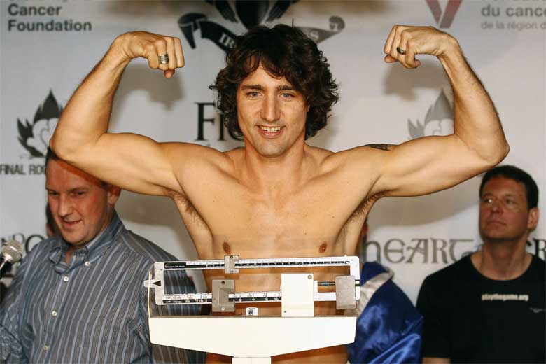 Boxing is one of Canada PM Justin Trudeau's favorite sports