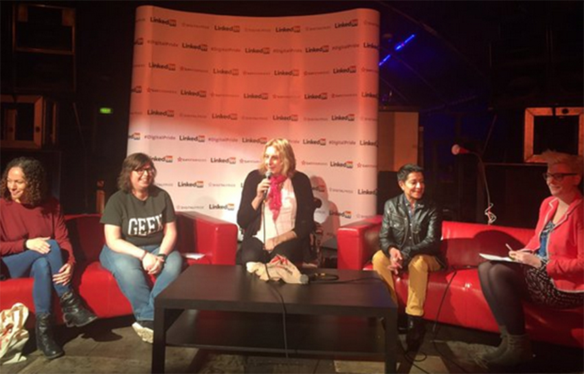 Digital Pride's Women's Voices panel