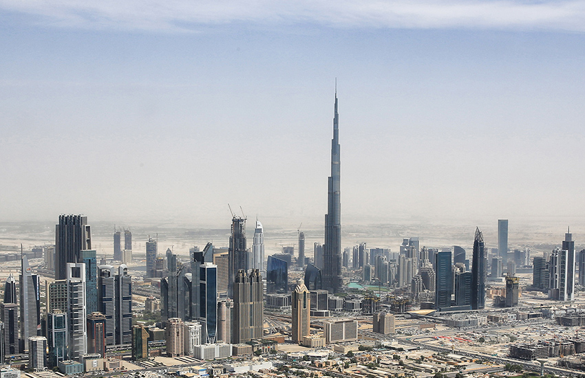 Dubai's Burj Khalifa holds a number of records - including tallest skyscraper in the world.