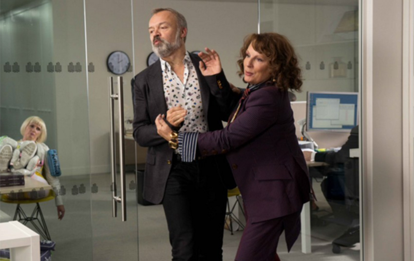 Graham Norton will star in the Absolutely Fabulous movie