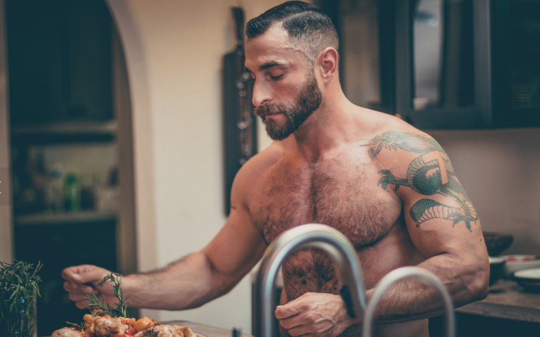 WeHos Bear-Naked Chef Takes His YouTube Series to