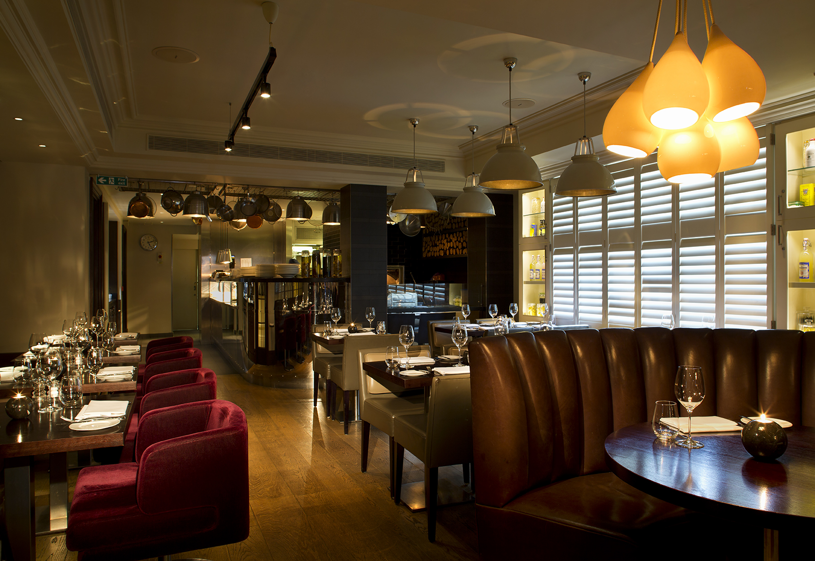 Hunter 486 at The Arch Hotel is opposite Madonna's London home
