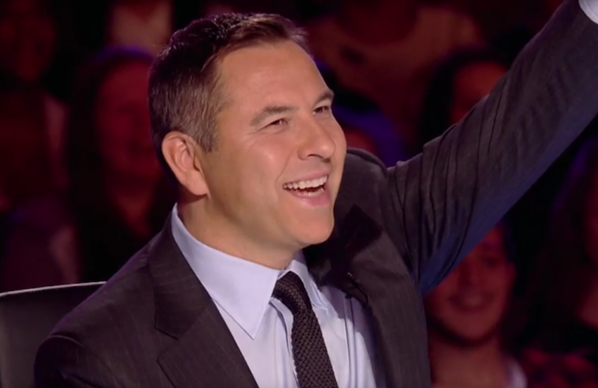 David Walliams is well known for playing up to a camp and effeminate stereotype