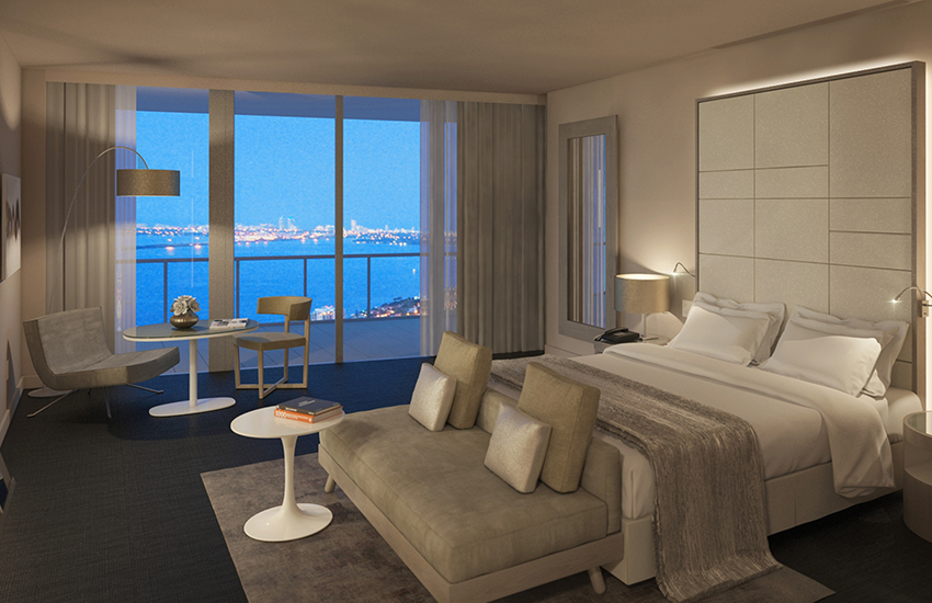 ME Miami, a new luxury lifestyle hotel, has opened in Downtown Miami