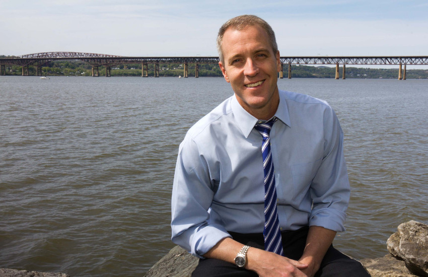 Sean Patrick Maloney is New York's first openly gay member of Congress