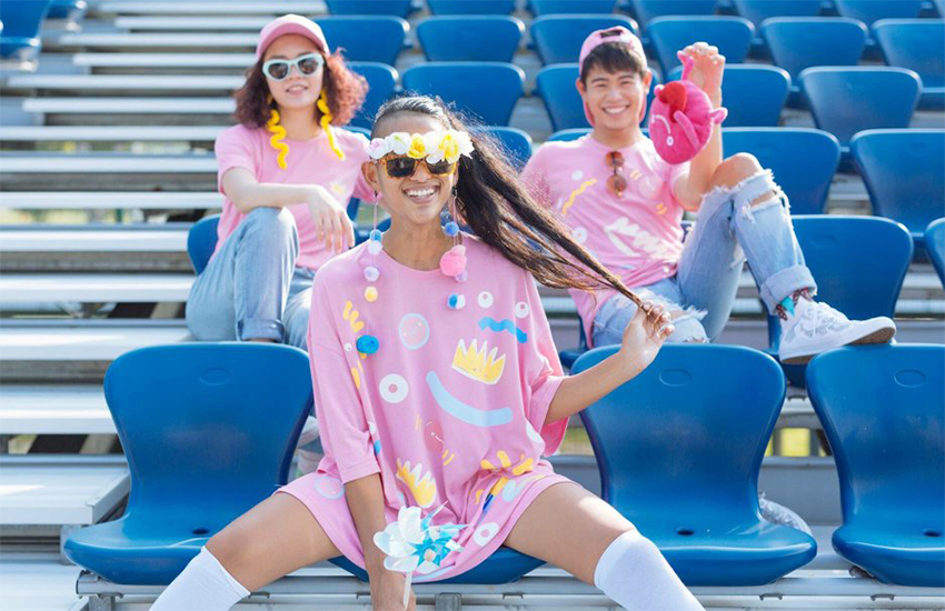The Pink Dot capsule collection from Actually and Mash Up