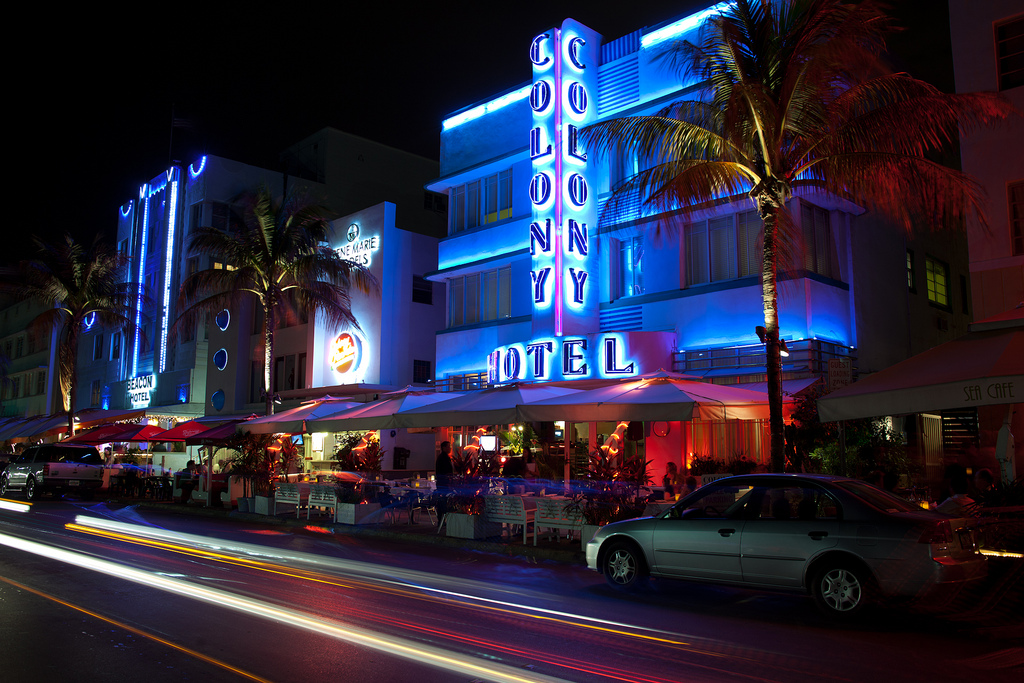 Miami Beach is home to some great Art Deco history