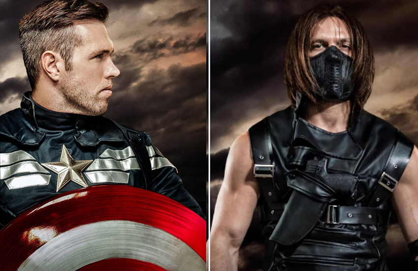 Captain America and Bucky finally have sex