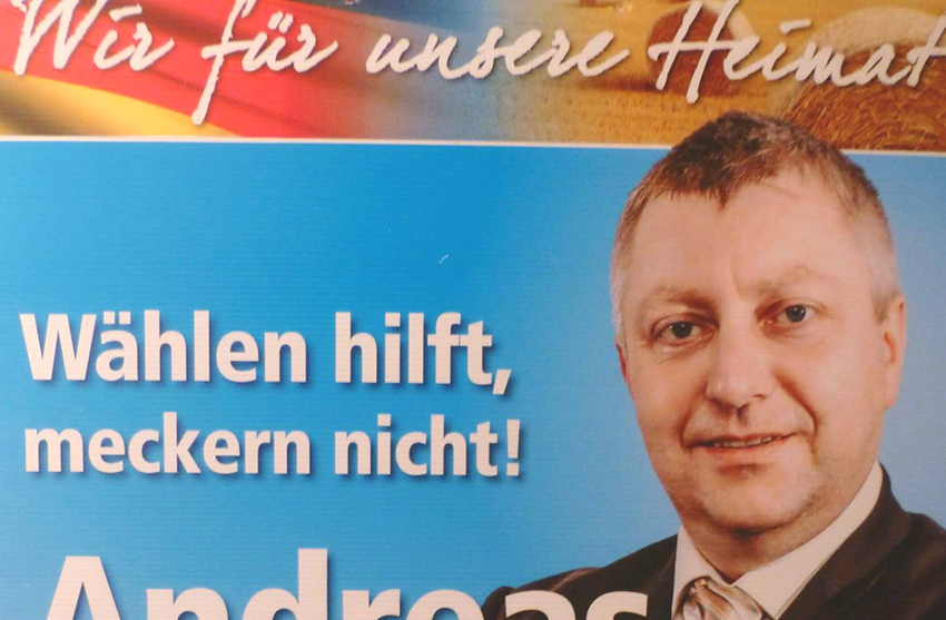 Andreas Gehlmann is an MP in the east German state of Saxony-Anhalt.