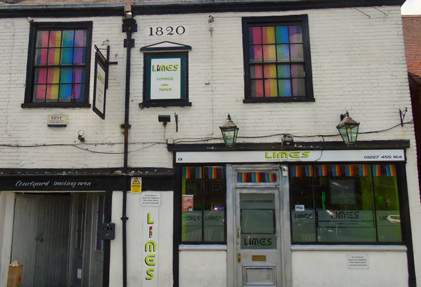 Limes Lounge in Canterbury 'shot at' by two teens