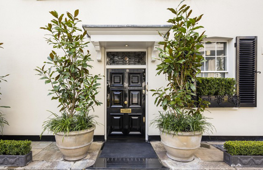 The mews house has been hailed as Britain's best-protected home.