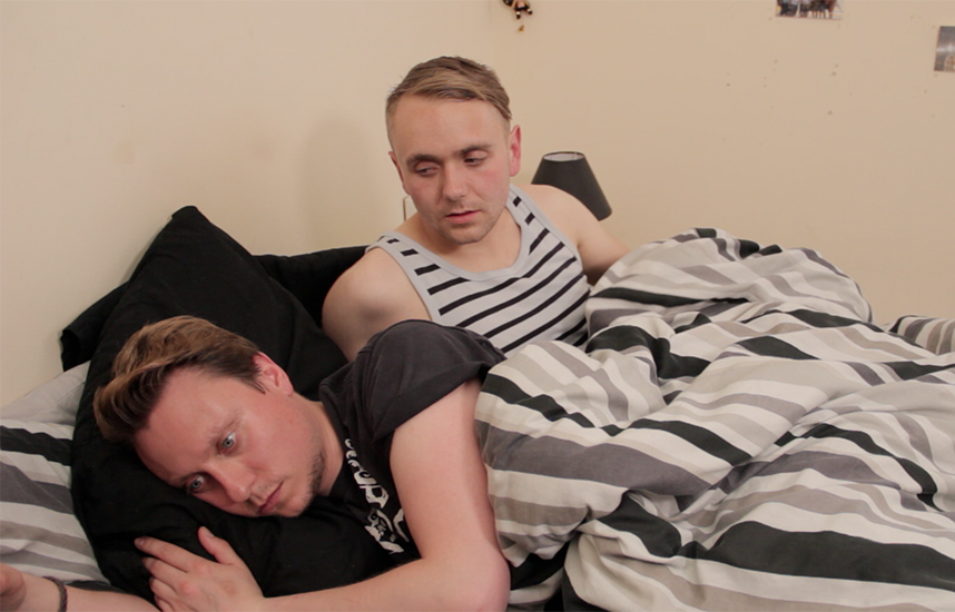 Bed scene from Outings