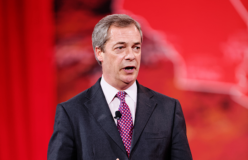 Nigel Farage is one of the most prominent figures supporting Leave.Eu.