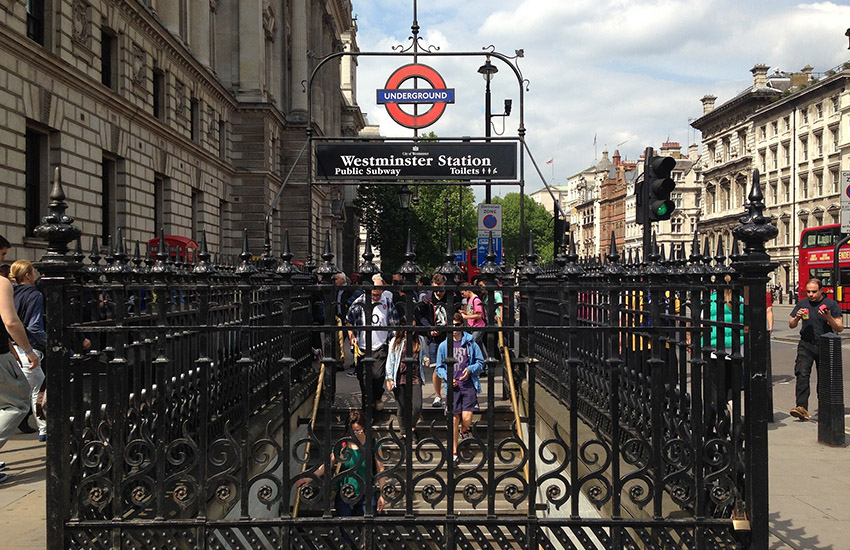 Unsurprisingly, Westminster is among one of the city's most expensive stops.