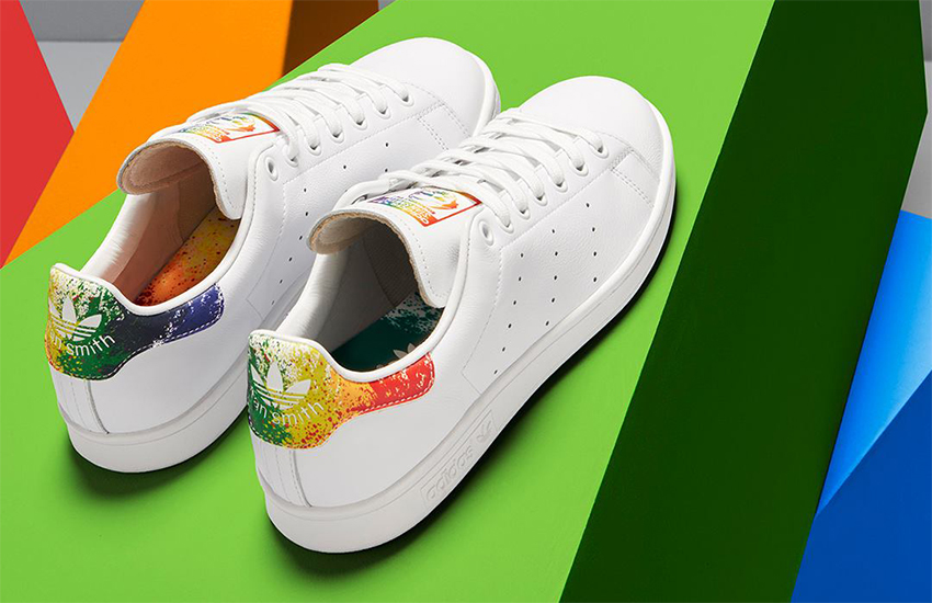 adidas superstar lgbt pride pack white/black rainbow