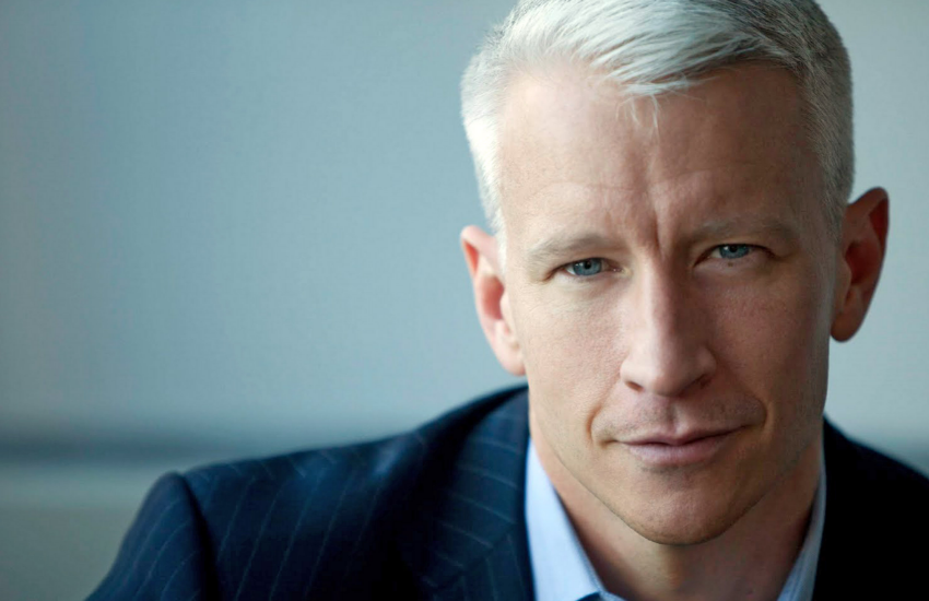 CNN anchor Anderson Cooper is over Donald Trump's tweets.