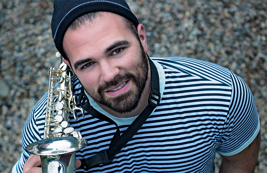 Saxophonist and pianist Mike Flanagan, the man behind MRF