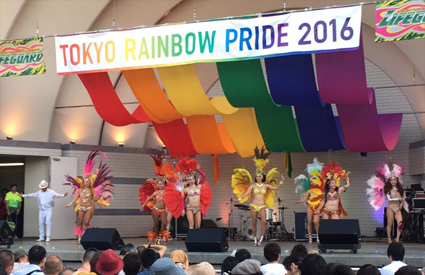 Tokyo's Rainbow Pride - which returned to Japan in May of this year