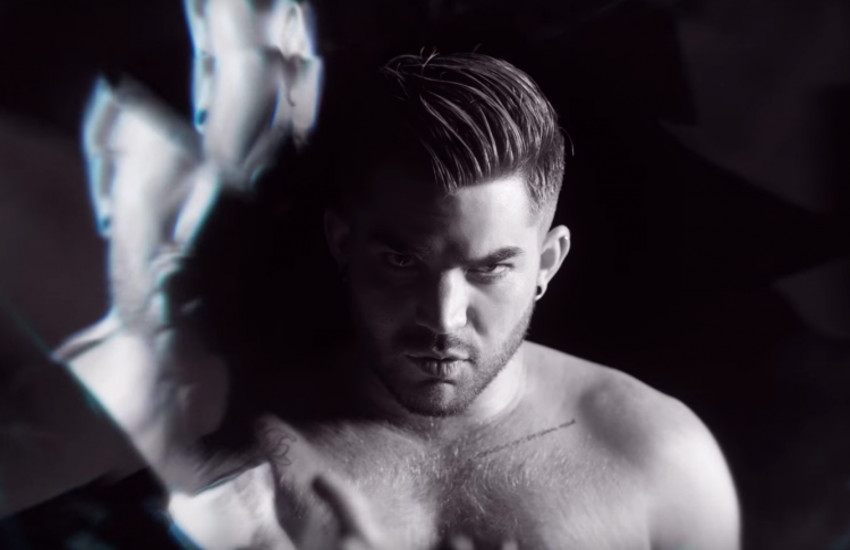 Adam Lambert has surprised fans with new video