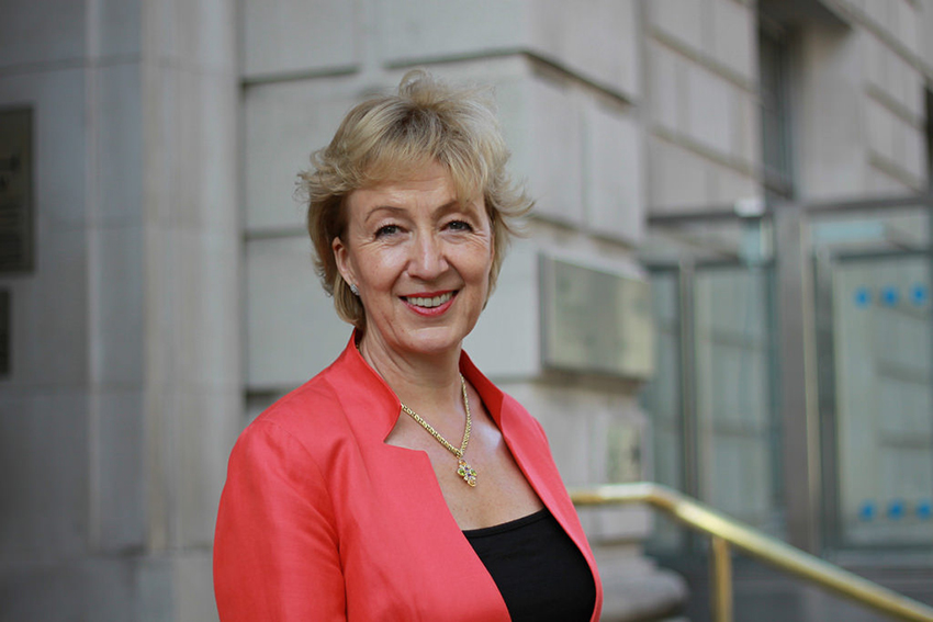 Andrea Leadsom opposes same-sex marriage
