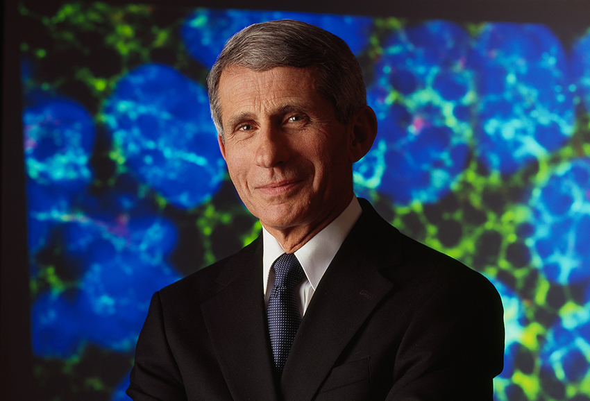 Anthony Fauci is leading on HIV research