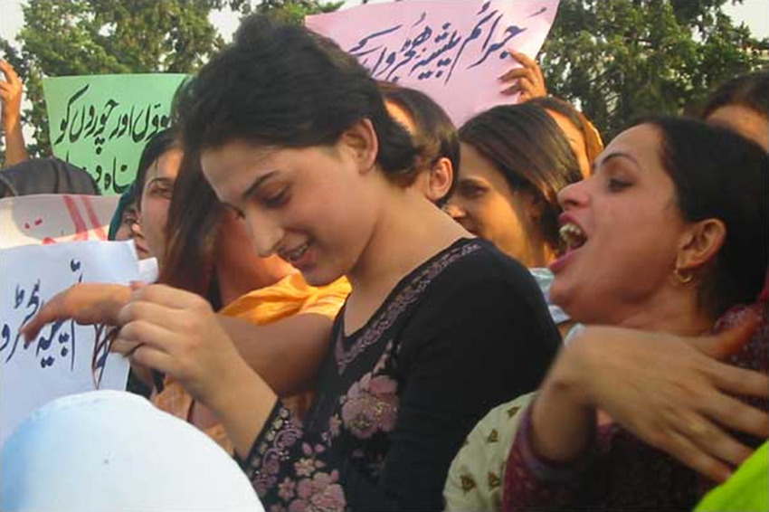 Hijras in the Pakistan capital, Islamabad.