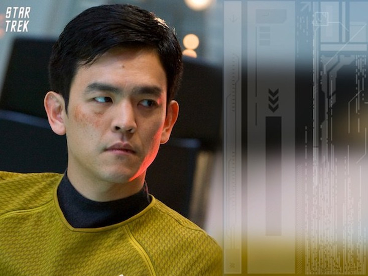 John Cho plays Sulu in three Star Trek feature films, including the latest