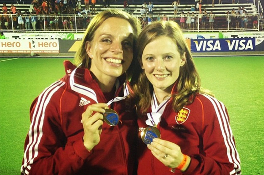 Kate and Helen Richardson-Walsh will be competing in the Olympics