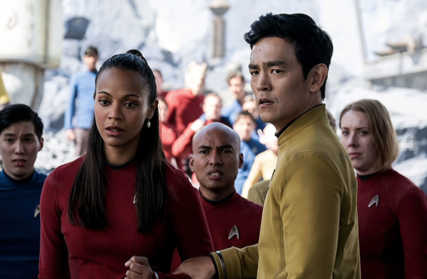 John Cho plays Sulu in three Star Trek feature films, including the latest, Beyond