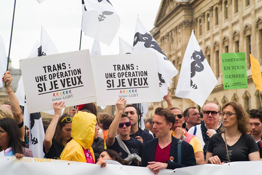 Transgender people given more rights in France